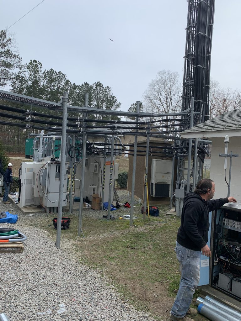 PROJECTS RF USA, Image 2.  View of the facilities and their complexity in the utility locating services for the installation of fiber optic cable (06/03/2019)