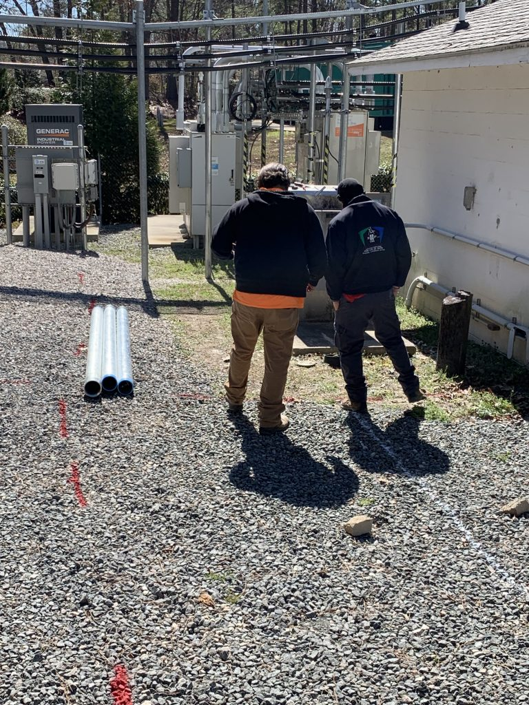 PROJECTS RF USA.  Image 4. View of the facilities of the Operator Mobile Station (03/06/2019)