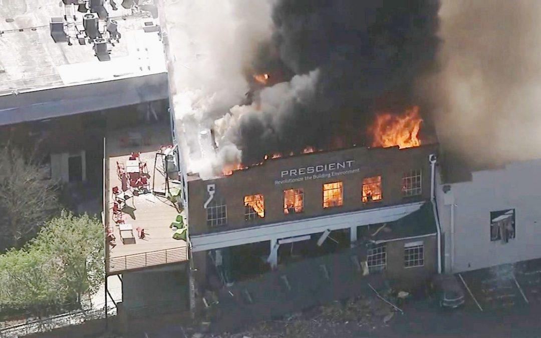 Explosion in Durham – NC