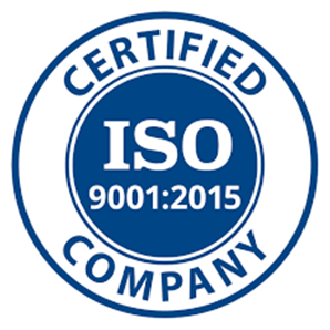 PROJECTS RF USA. Image 3. Company logo certified with ISO 9001: 2015 standard (Jun-2019)