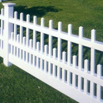 Image 4. Vinil Fence in an open style in aluminum simulation (Internet - Aug-2019). PROJECTS RF USA