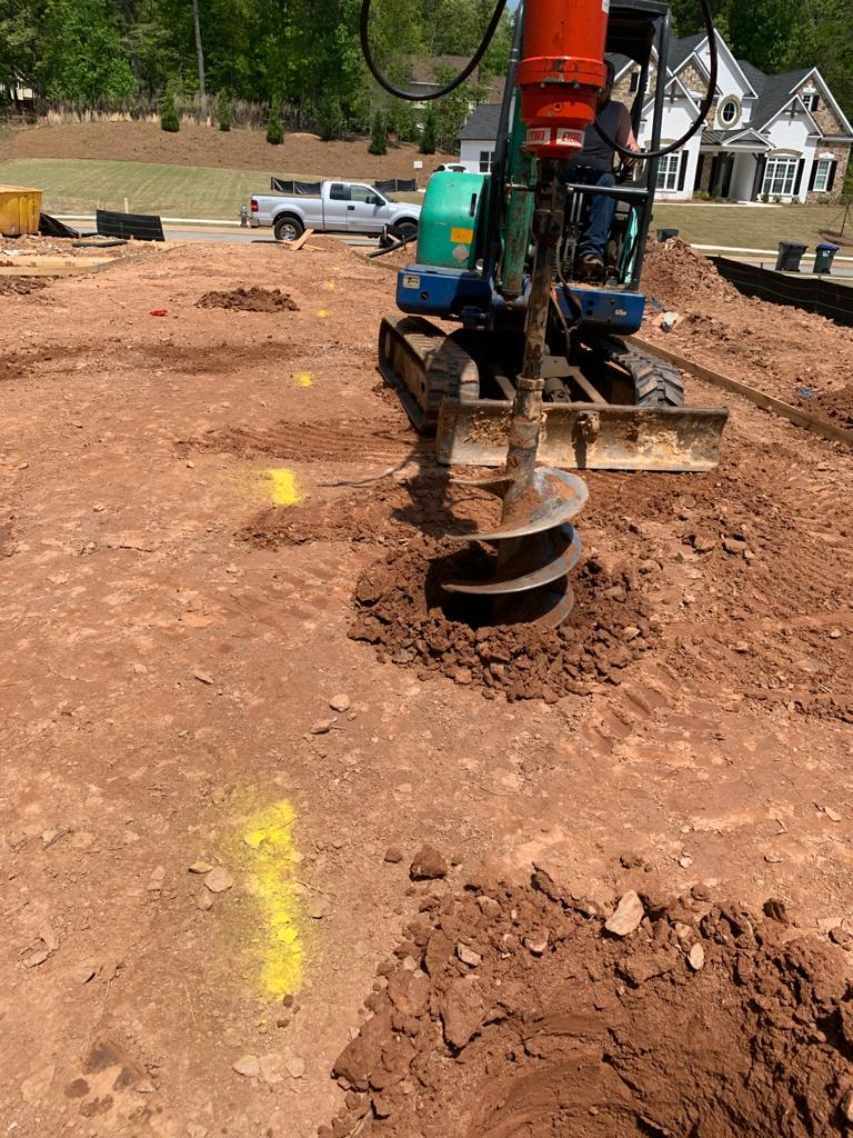 Image 4: Execution of excavations with standard drilling system (PROJECTRFUSA - Jun2021)