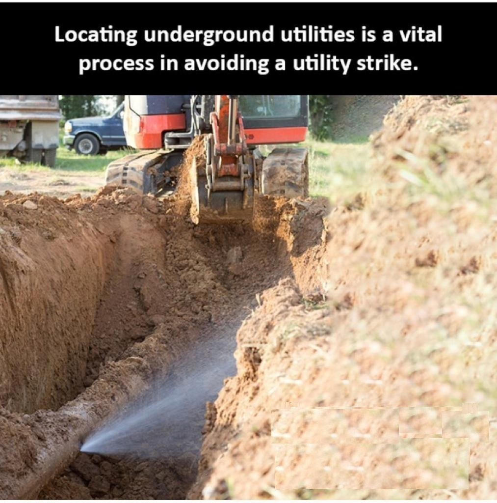 Image 1: Water pipe breakage in an excavation (Internet image -2021) - PROJECTSRFUSA